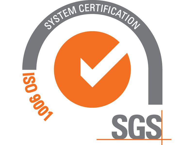 ISO 9001 2015 sertifikat
